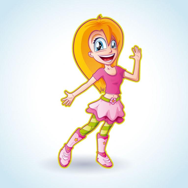 Manga Princess Cartoon Character