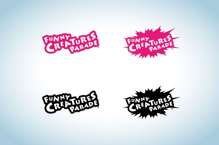 Logo design for Funny Creatures Parade