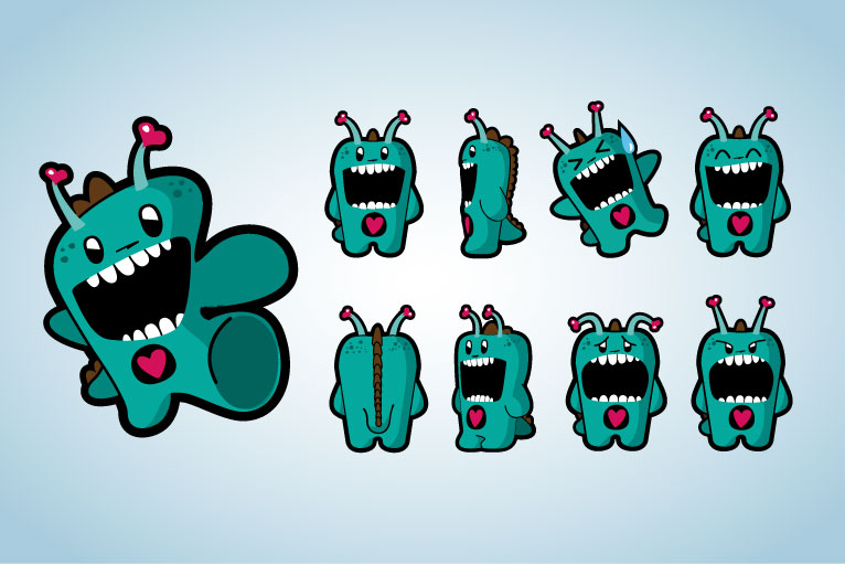 Funny Creatures Parade, Animated Cartoon Series Style Guide