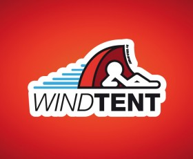 Windtent Logo design