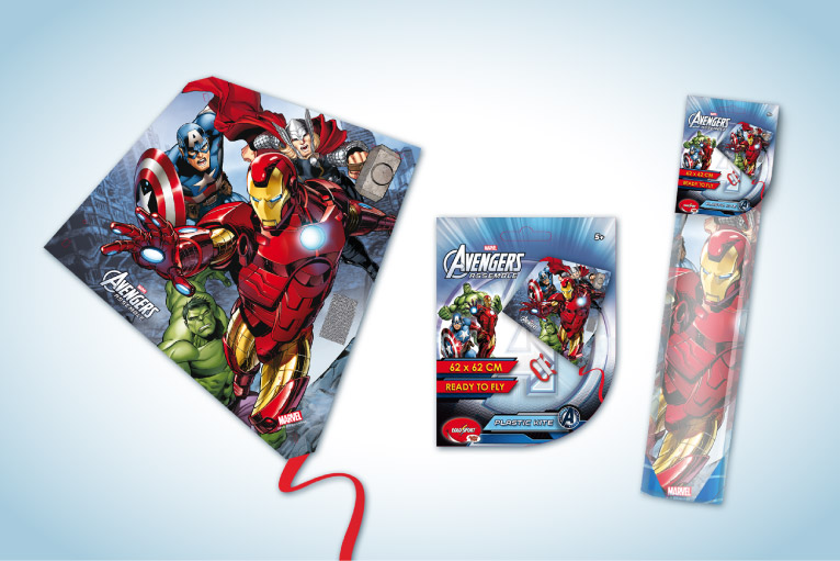 Marvel Avengers toy and packaging design