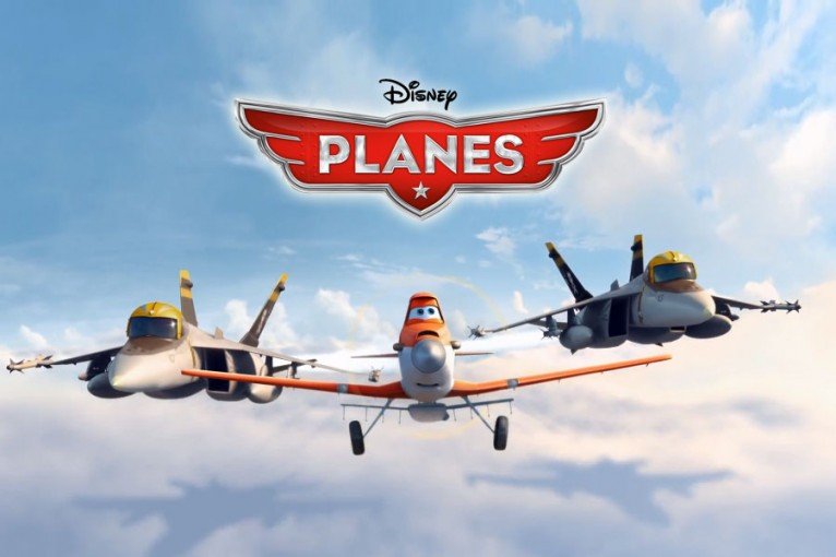 Packaging and graphic products following Disney Planes style guide