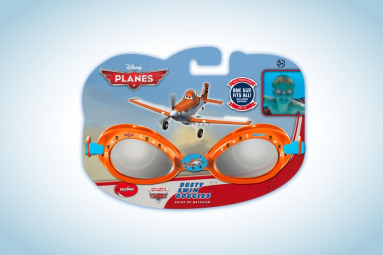 Packaging and graphic product following Disney Planes style guide