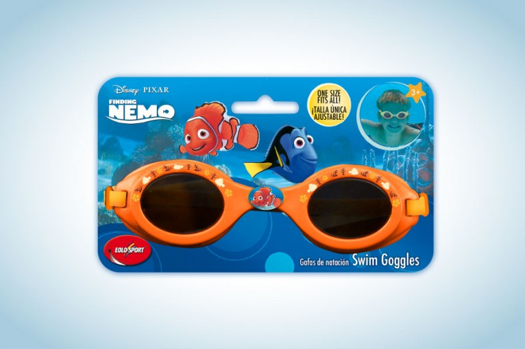 Packaging and graphic product following Disney / Pixar Nemo style guide