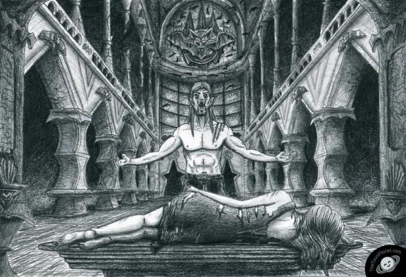 Vampire illustration tutorial