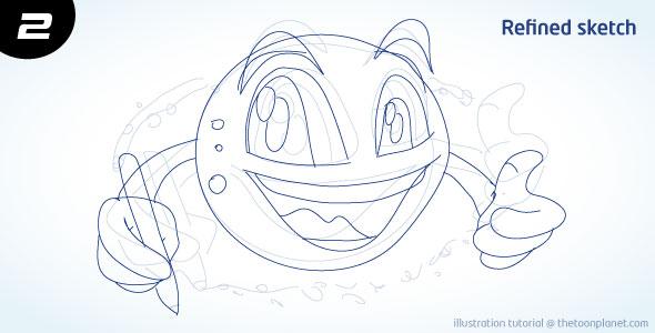 TheToonPlanet Blog Tutorial: Cartoon Planet Character