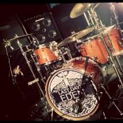 Last Days of Eden Drums with logo design