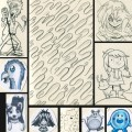 Sketch drawing compilation