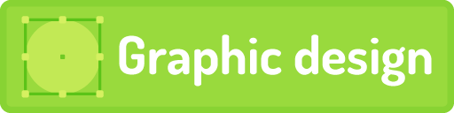 Graphic design button
