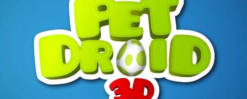 Pet Droid 3d Logo