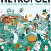 Poster design for Metropoli Gijón contest