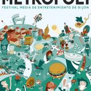 Poster design for Metropoli Gijón contest