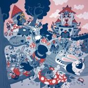 Alice Adventures in Wonderland Illustration