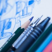 Drawing tools over the drawing board