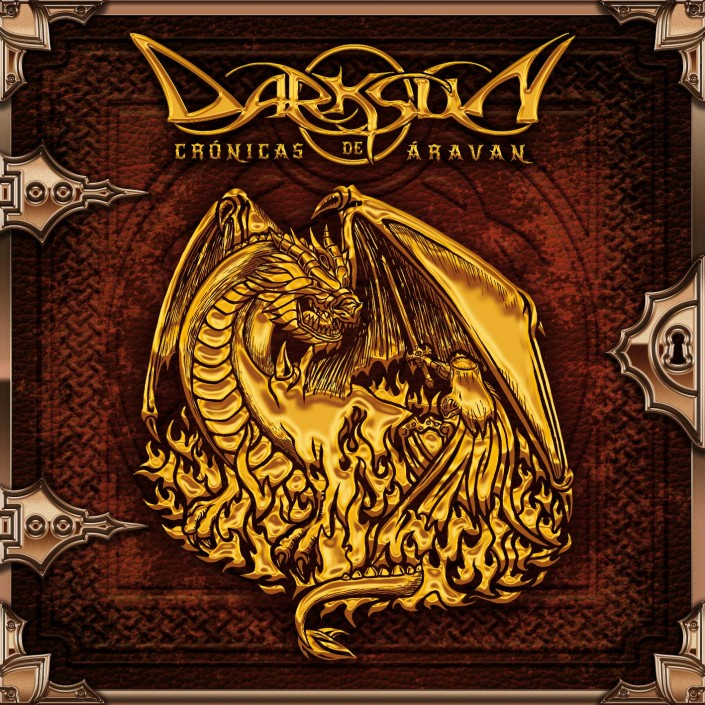 Album cover design and artwork - Darksun's Chronicles of Aravan