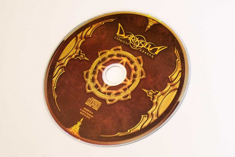 CD Artwork for Darksun's album Chronicles of Aravan