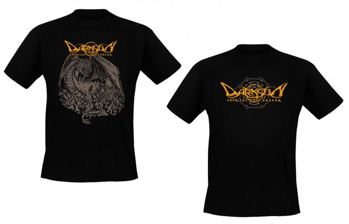 T-shirt design for Chronicles of Aravan, brand new merchandising from Darksun