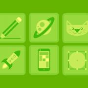 TheToonPlanet Services Icon set design