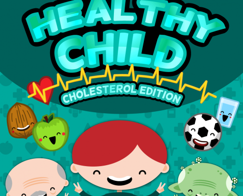 Healthy Child video game cover