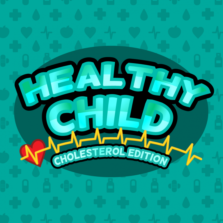 Logo design for Healthy Child video game