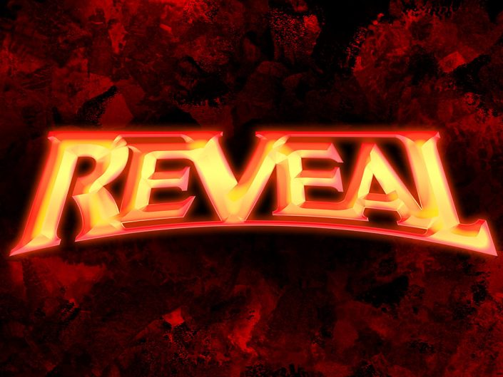 Reveal metal band logo design