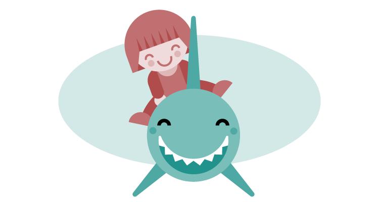 TIpos Malos: Ilustración para Principia Kids