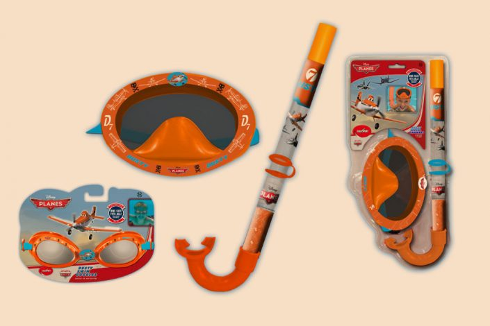Disney Planes water toys graphic design artwork