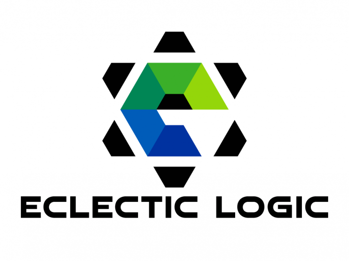This logo is designed for Eclectic Logic, a software developer for mobiles and web sites from United States.