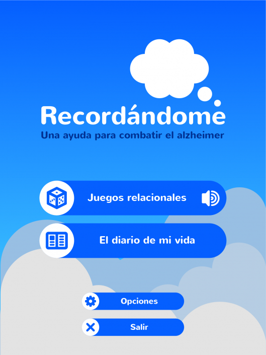 User interface design for Recordándome, an ehealth app designed for battling alzheimer disease