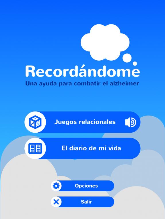 User interface design for Recordándome, an ehealth app designed for battling alzheimer disease