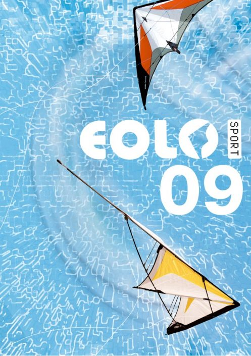 Eolo-Sport stunt pro kites cover graphic design artwork