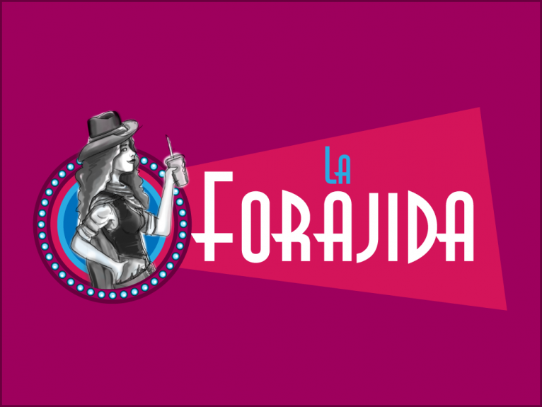 Logo design for La Forajida, a western themed food truck in Asturias, north of Spain.