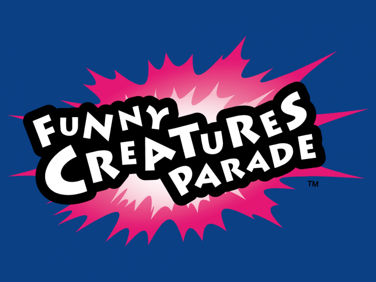 Logo design for Funny Creatures Parade, a cartoon TV series created by TheToonPlanet