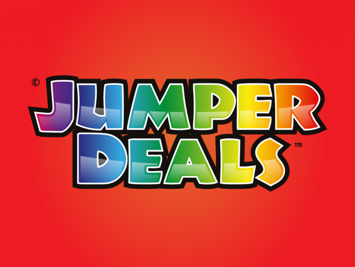 Logo design for Jumper deals, an outdoor inflatables company based in United States