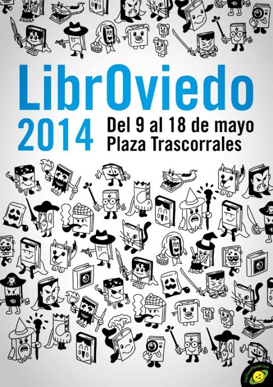 LibrOviedo cartel 2º premio 2014