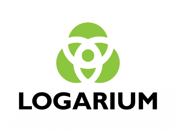 Logo design for Logarium, a creative branding logo design agency based in Oviedo, Asturias.