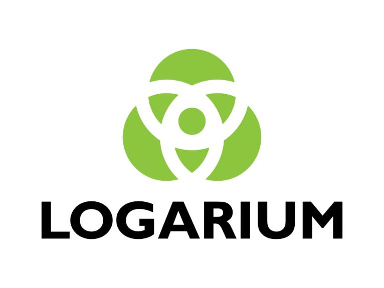 Logo design for Logarium, a creative branding logo design agency based in Oviedo, Asturias.