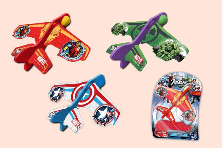 Marvel avengers toy planes graphic design artwork