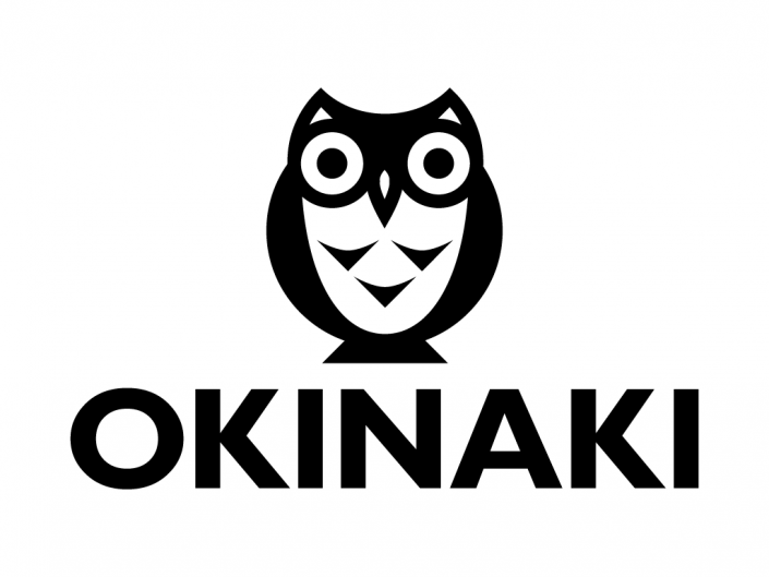 Logo design created for Okinaki, a indie video game developer and publisher company based in Oviedo, Asturias, Spain.