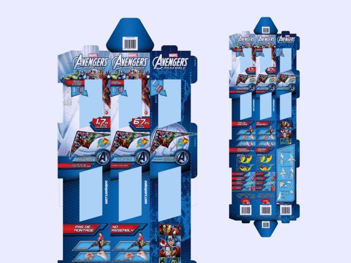 Marvel Spiderman popup kite graphic design artwork