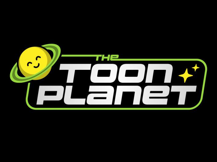 Logo design for TheToonPlanet, creative graphic design and vector digital illustration in Asturias