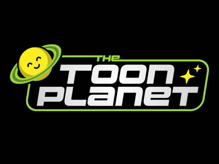 Logo design for TheToonPlanet, creative graphic design and vector digital illustration in Asturias