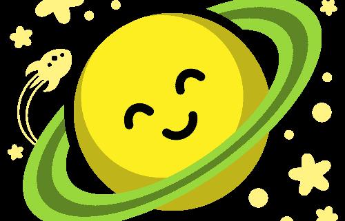 Planeta feliz: Símbolo e icono de TheToonPlanet
