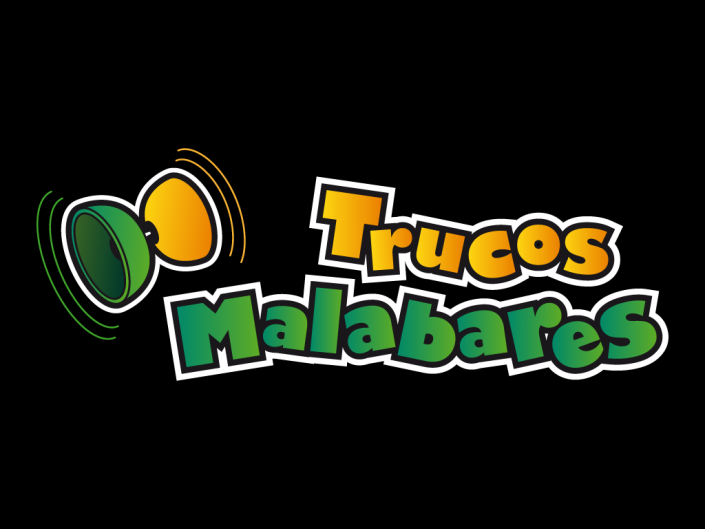 Logo design for Juggling tricks, trucos malabares, a juggling social network for sharing tricks and videos.
