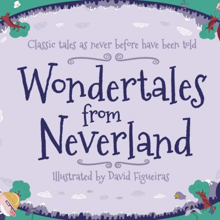 Wondertales from Neverland Cover design