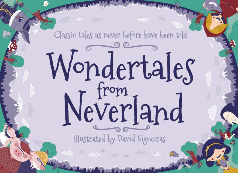 Wondertales from Neverland Cover design